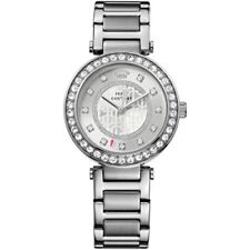 Juicy Couture Ladies Stainless Steel Watch 1901150 Silver Dial