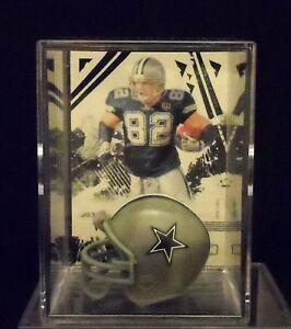 Jason Witten Dallas Cowboys Trading Card & Mini-Helmet Display