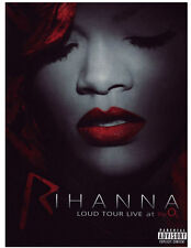DVD RIHANNA  LOUD TOUR LIVE AT THE O2  neuf new   sous blister