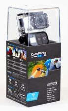 GOPRO HD HERO3+BLACK EDITION HELMET CAMERA HD AV/BONUS RAGECAMS BATTERY+LENS CAP