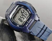 Casio HDD-600C-2A Mens Digital 100M WR Watch Blue Sport 10 Year Battery New