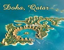 Qatar - DOHA - Travel Souvenir Fridge Magnet