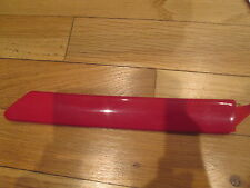 NOS 1993 1994 FORD TEMPO MERCURY TOPAZ FRONT FENDER TRIM MOULDING LH RED