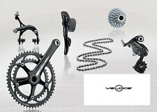 Campagnolo Veloce 10 Speed Road Bike Groupset - Black