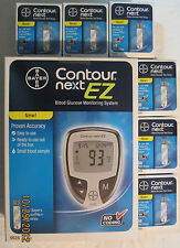 Bayer Contour Next Blood Glucose 300 Test Strips And Meter  Exp:02/28/2019
