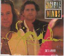 MAXI CD SINGLE 4T SIMPLE MINDS SHE'S A RIVER DE 1995 TBE