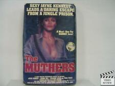 The Muthers (VHS) Large Case 1985 Jayne Kennedy