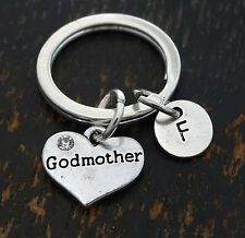 Godmother Keychain, Godmother Key Chain, Godmother Charm, PERSONALIZED