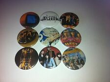 9 The Sweet button badges 25mm Desolation Boulevard Ballroom Blitz Glam Rock