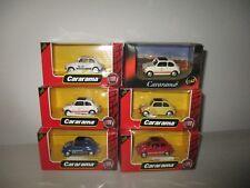 FIAT 500L 6 PEZZI SCALA 1:43 CARARAMA