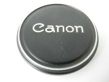 CANON METAL 60MM FRONT LENS CAP WITH CANON SCRIPT
