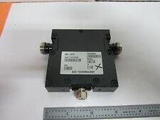 RF CIRCULATOR ACE TECHNOLOGY MICROWAVE FREQUENCY BIN#K1-20