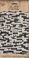 Tim Holtz Idea-Ology cotorreo Palabras-Chit Chat palabra Pegatinas Blanco Negro