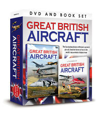 GREAT BRITISH AIRCRAFT BOOK AND DVD SET Hurricane , Spitfire and More - Gift Set