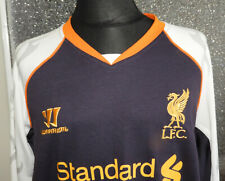 LIVERPOOL 2012//13 AWAY MINI KIT BY WARRIOR SIZE 2-3 YEARS BRAND NEW