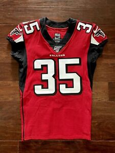 Jamal Carter Atlanta Falcons Authentic Nike Pro Cut Team Issued Football Jersey