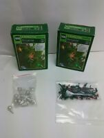 Christmas Lights Multi Color 23.5 Feet Indoor/Outdoor 2 Boxes & Extra Bulbs
