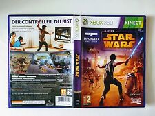 Star Wars Kinect Microsoft XBOX 360 *PAL FORMAT* COMPLETE Game Demons Bonus Disc