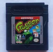 Vintage NINTENDO GAMEBOY GAME BOY COLOR FROGGER LAS VEGAS COOL HAND VIDEO GAMES