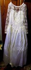 Long Sleeve Plus Size Strapless Wedding Dresses