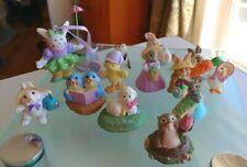 Hallmark Merry Miniatures & 1 Avon - 13 Piece Lot - 80s & 90s - Easter/Spring