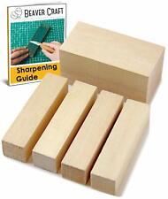 Carving Wood Blocks Kit DIY Crafting Linden Basswood Carving Blocks BeaverCraft