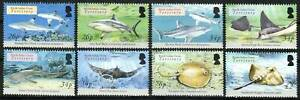 British Indian Ocean Territory Stamp - Sharks and Rays Stamp - NH