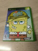 SpongeBob SquarePants Battle For Bikini Bottom Microsoft XBOX THQ Nickelodeon
