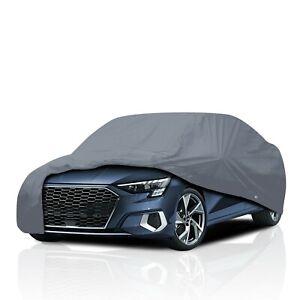 [CSC] Waterproof Semi Custom Fit Full Car Cover for Audi A3 Sedan 1996-2020