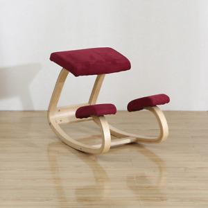 Ergonomic Wooden Kneeling Chair Stool Correct Posture Knee Chair Anti-myopia