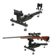 Rifle Shooting Gun Rest Hunters Shooters Bench Sighting Vise Range Stand Target