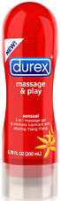 Durex Massage And Play Sensual 2 in 1 Lubricant - Ylang Ylang - 6.7oz