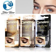 Delia Eyebrow Tint Cameleo Creamy Henna Eyelash Dye Black Dark Brown KIT 15ml
