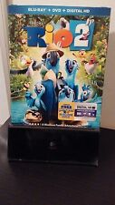 Rio 2 (Blu-ray, 2014) Used Just once - Free Shipping - No DVD/UV