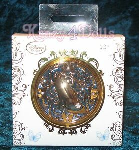 Disney Princess Cinderella Live Action Film Compact Mirror NEW!