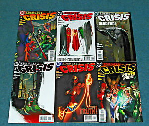 Comic Book Lot Assorted Six (6) Idenity Crisis DC Wholesale Collectibles Art Ink