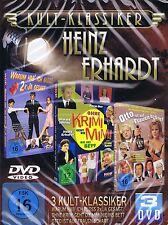 DVD-BOX NEU/OVP - Kult-Klassiker Heinz Erhardt - 3 Filme