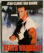 NEW DEATH WARRANT LIMITED EDITION BLU RAY + SLIPCOVER SCORPION RONIN FLIX EXCLUS