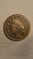 Very Rare 1863 USA Copper New York City Civil War Token