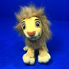 Disney Hasbro Lion King Simba Plush With Mane Pellets 5 Inch