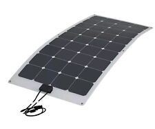 100W Semi Flexible Solar Panel Caravan Boat Motorhome Battery Charging Energy