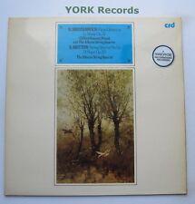 CRD 1051 - SHOSTAKOVICH - Piano Quintet BENSON / ALBERNI QUARTET - Ex LP Record