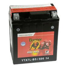 Banner Bike Bull AGM Motorrad Batterie 12V 6Ah 50614 YTX7L-BS Starterbatterie