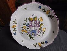 Piatto ceramica di Philadelphia decoro floreale copiare vecchio stile anni 1960/