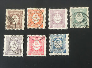 "Portugal Postage-due Stamp,1904 Numeral Stamps-Inscription ""PORTEADO"",1 Set"
