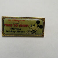 Disney 1st Anniversary Hollywood Time to Shop Pin