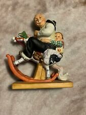 "1980 Norman Rockwell - ""Gramps At The Reins"" Figurine - from The Danbury Mint"