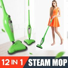 1300W 12-in-1 STEAM CLEANER HAND HELD STEAMER & FLOOR MOP CARPET CLEANING WASHER