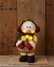 Standing Snowman w Lights Country Prim more available wg 7d4085 New Shelley