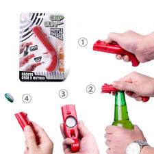 Creative Firing Cap Gun Corkscrews Flying Cap Launcher Bottle Beer Drink Openers